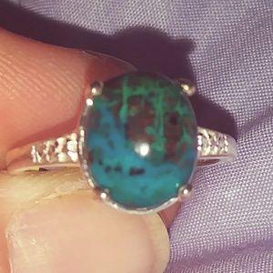 Australian Chrysocolla Ring